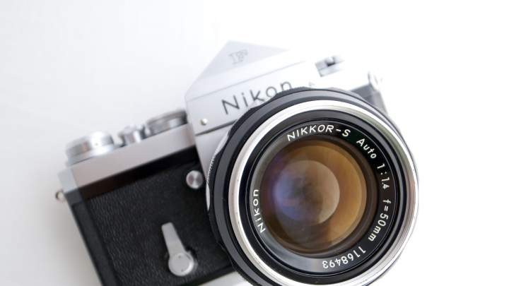 The legendary Nikon F