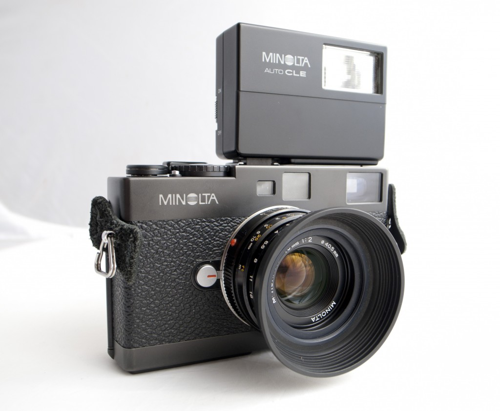 Minolta CLE flash