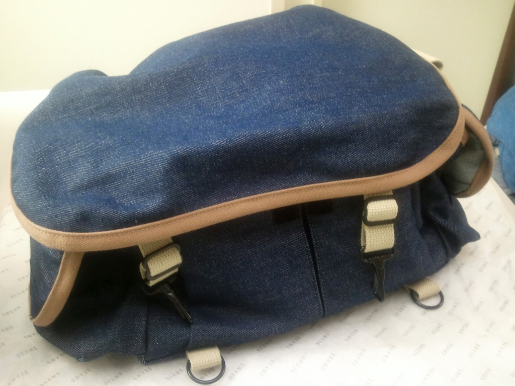 domke denim bag