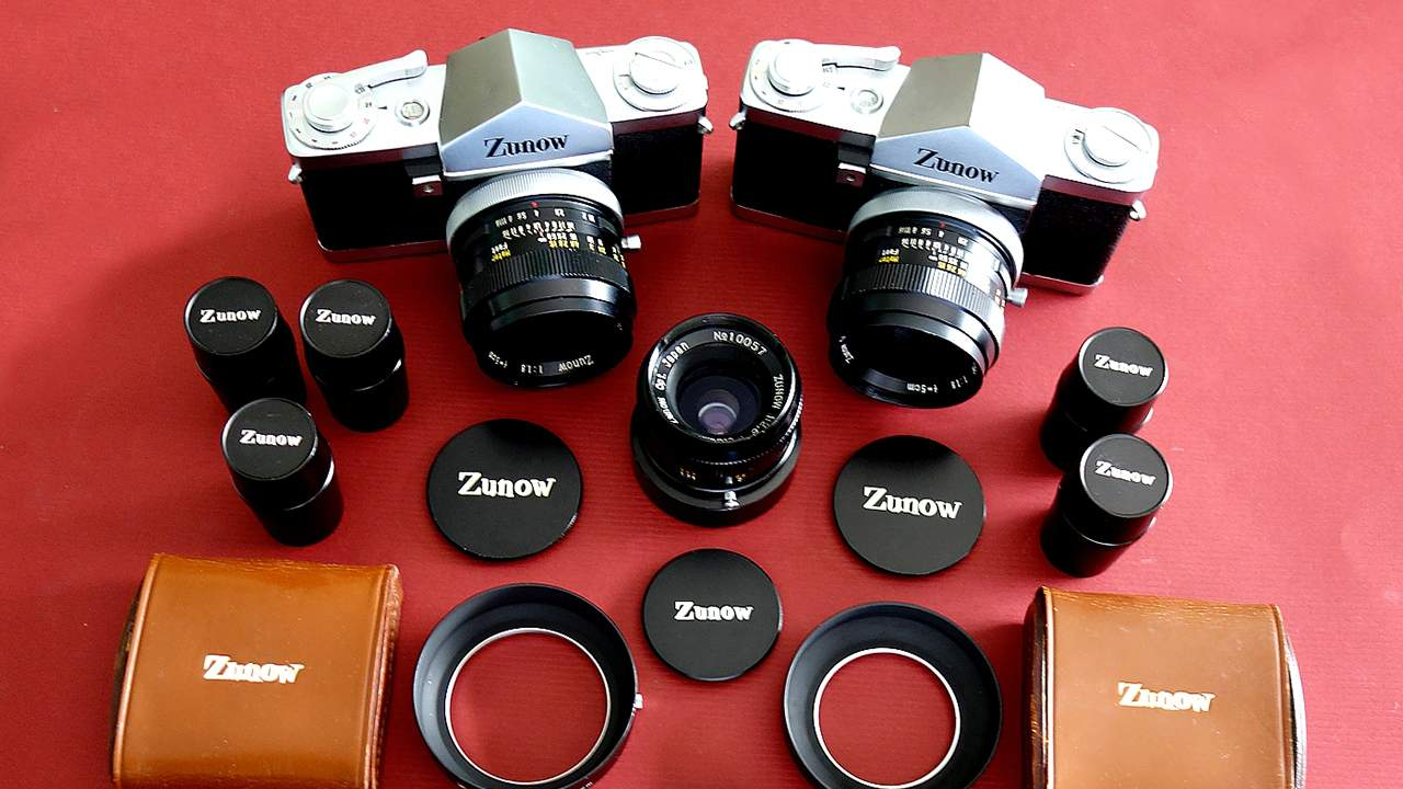 Zunow 35 matching set with lenses