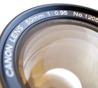 The incredible Canon 50mm f/0.95
