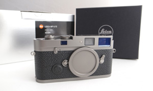 The Leica MP Titanium