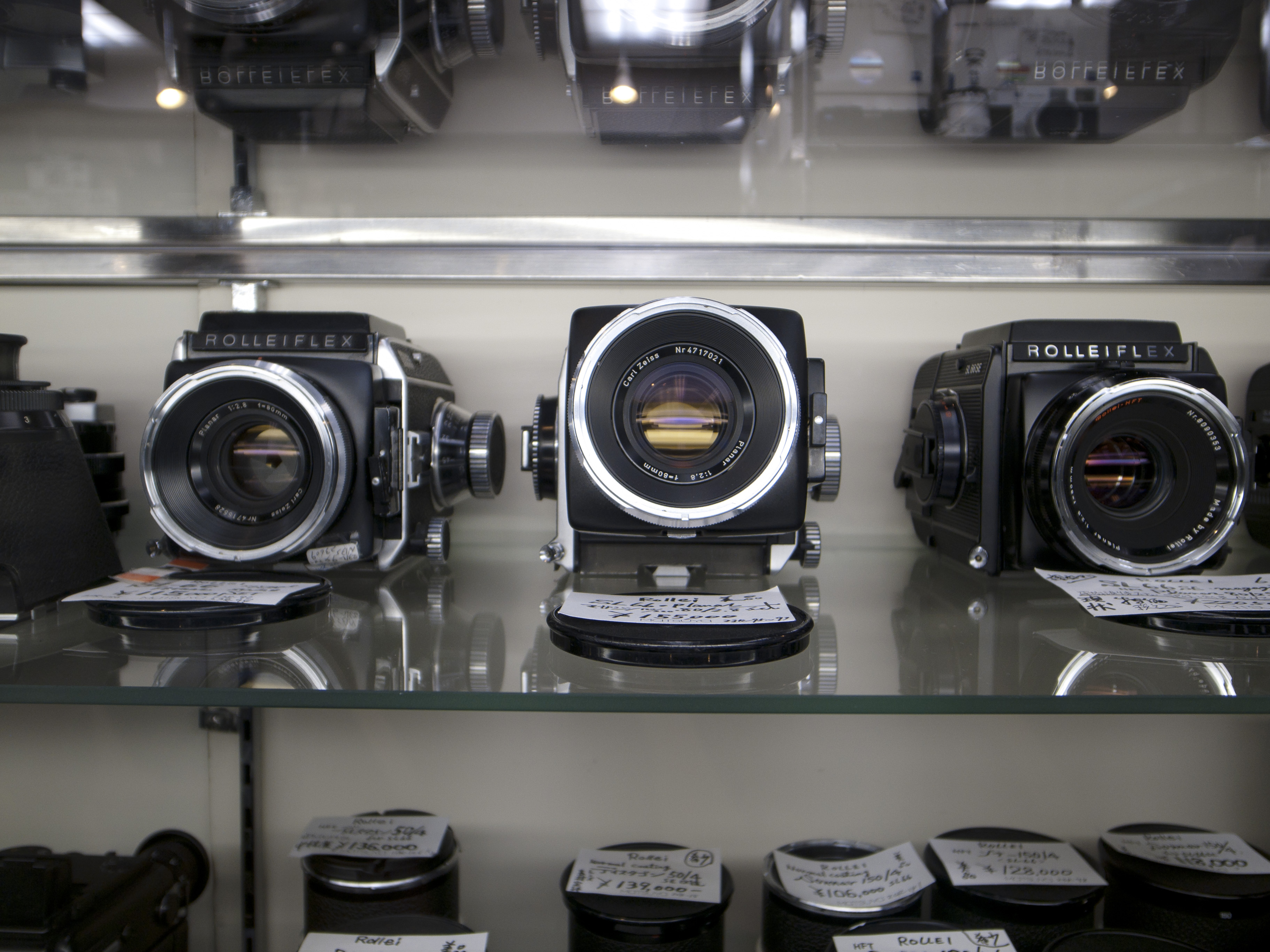 Hasselblad lens guide