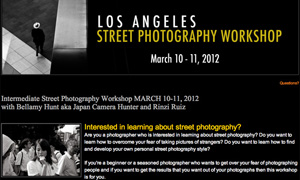 NEWS: Los Angeles Street Photography Workshop!
