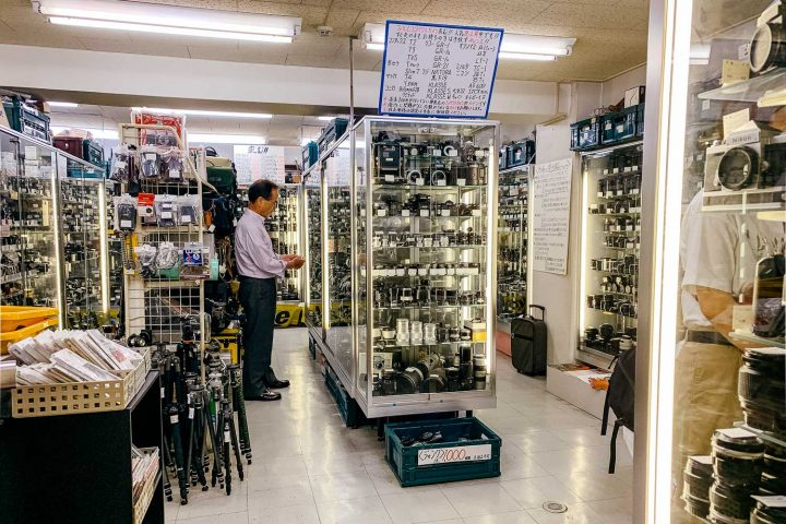 Camera shopping in Tokyo - Westside (updated for 2019