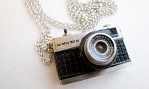 Camera jewellery by Luke Satoru