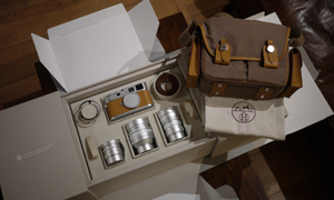 The Hermes Leica M9-P unboxed!