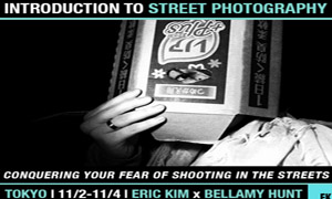 """Conquering Your Fear of Shooting on the Streets"" Introduction to Street Photography Workshop in Tokyo with Eric Kim (11/2-11/4)"