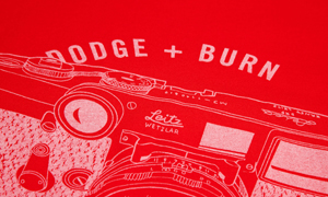Camera Geekery: New Dodge and Burn T-shirts