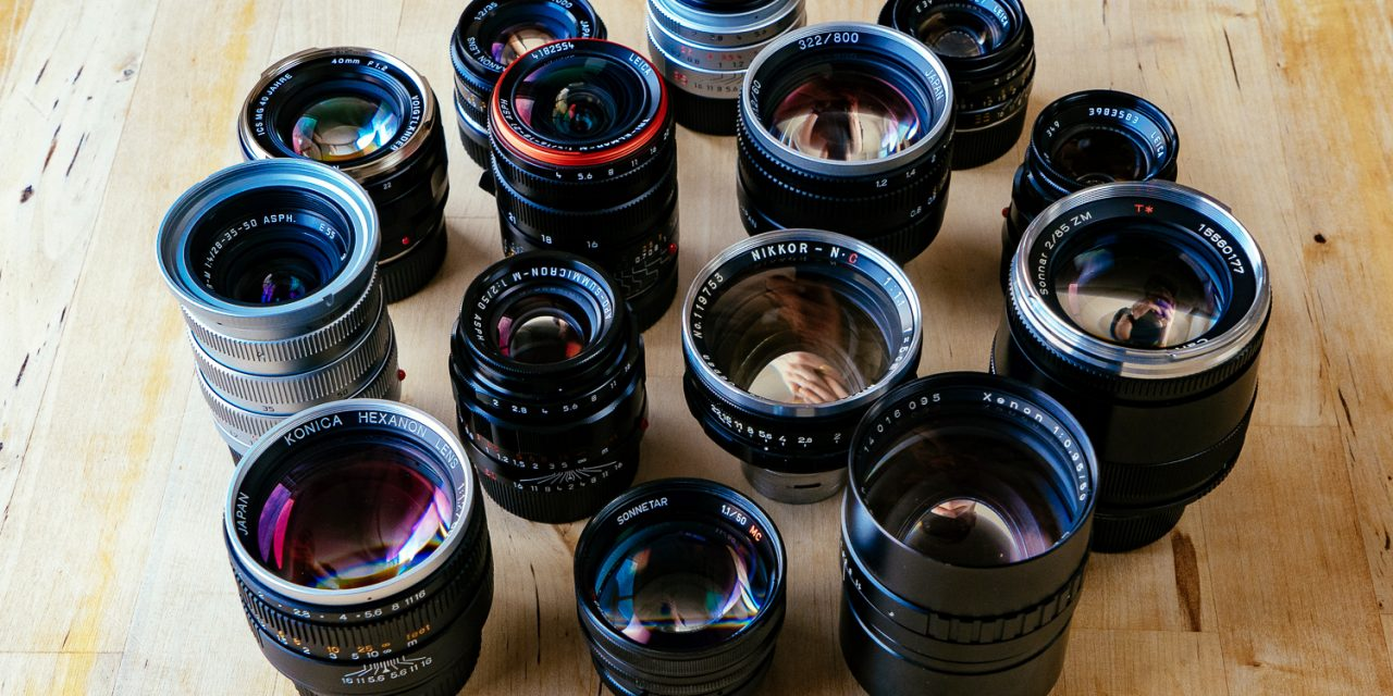 Looking after your camera lenses