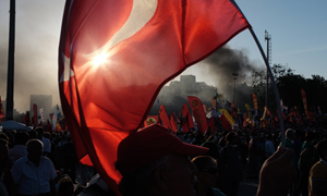 Istanbul and the Turkish unrest by Simon Becker