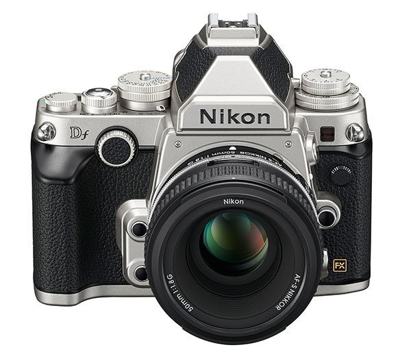 Nikon-Df-silver-front