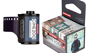 Film News: New Lomography Cine200 Tungsten film