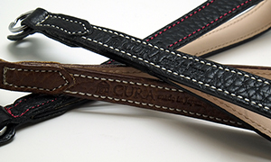 Cura Leather Camera Straps