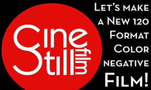 Film News: JCH Exclusive – Cinestill 120 is coming!