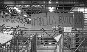 Hong Kong Umbrella Revolution by Alice Ngan