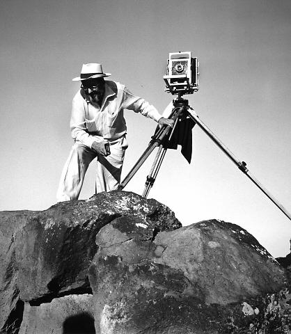 Ansel Adams by Dorothea-Lange