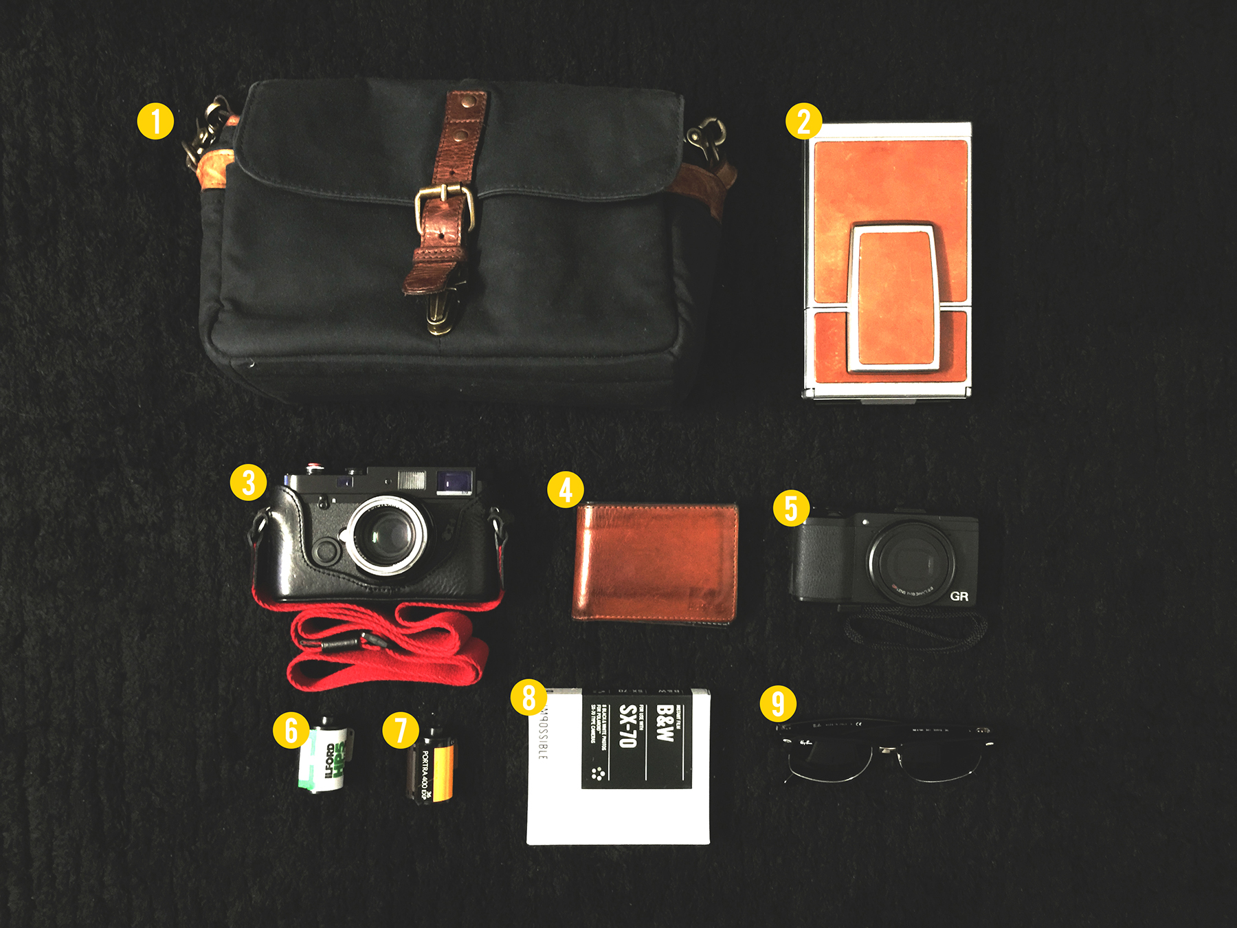 In your bag No: 1171 – Andrew James Goh