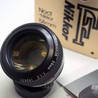 Camera Geekery: The Nikon 58mm 1.2 Nocf
