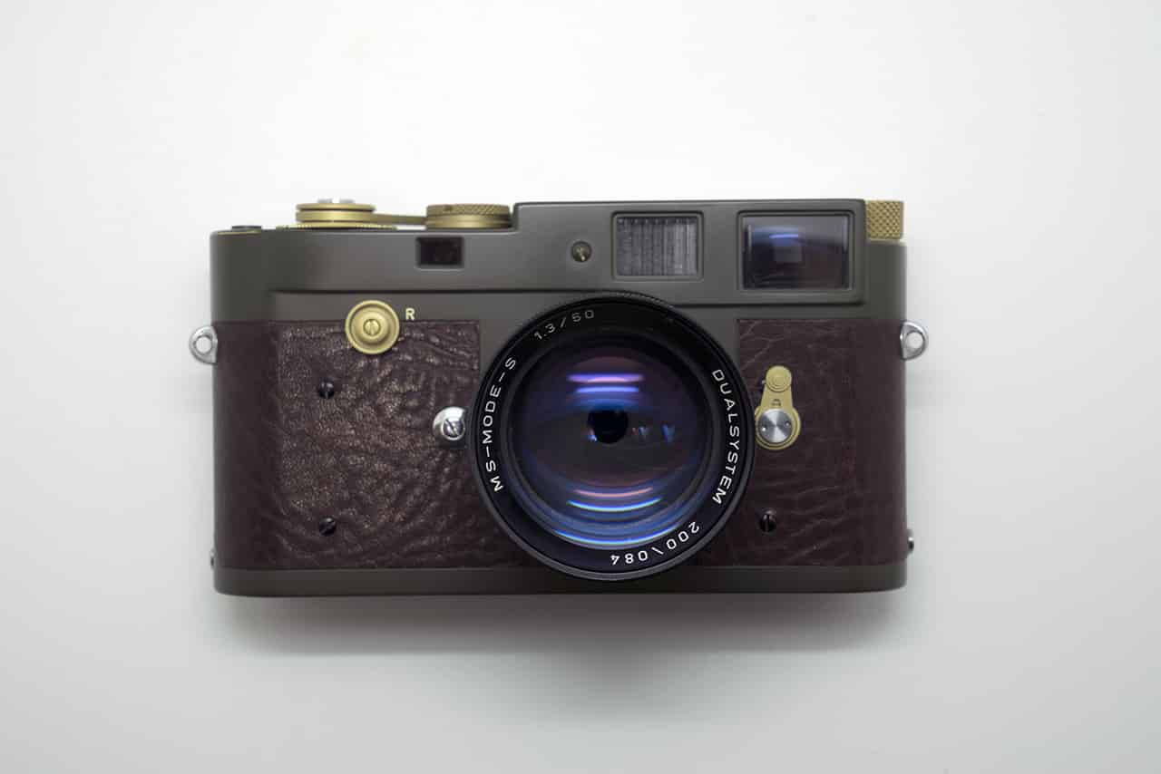 Camera Geekery: Modern Military Repainted Cameras