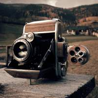 Camera Geekery: Custom Cameras by Dora Goodman