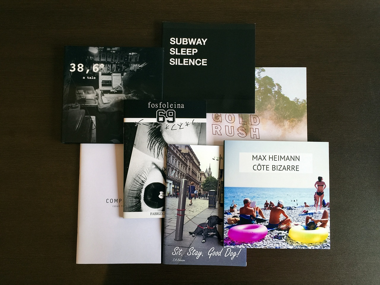 Photography Zines and Books No: 35