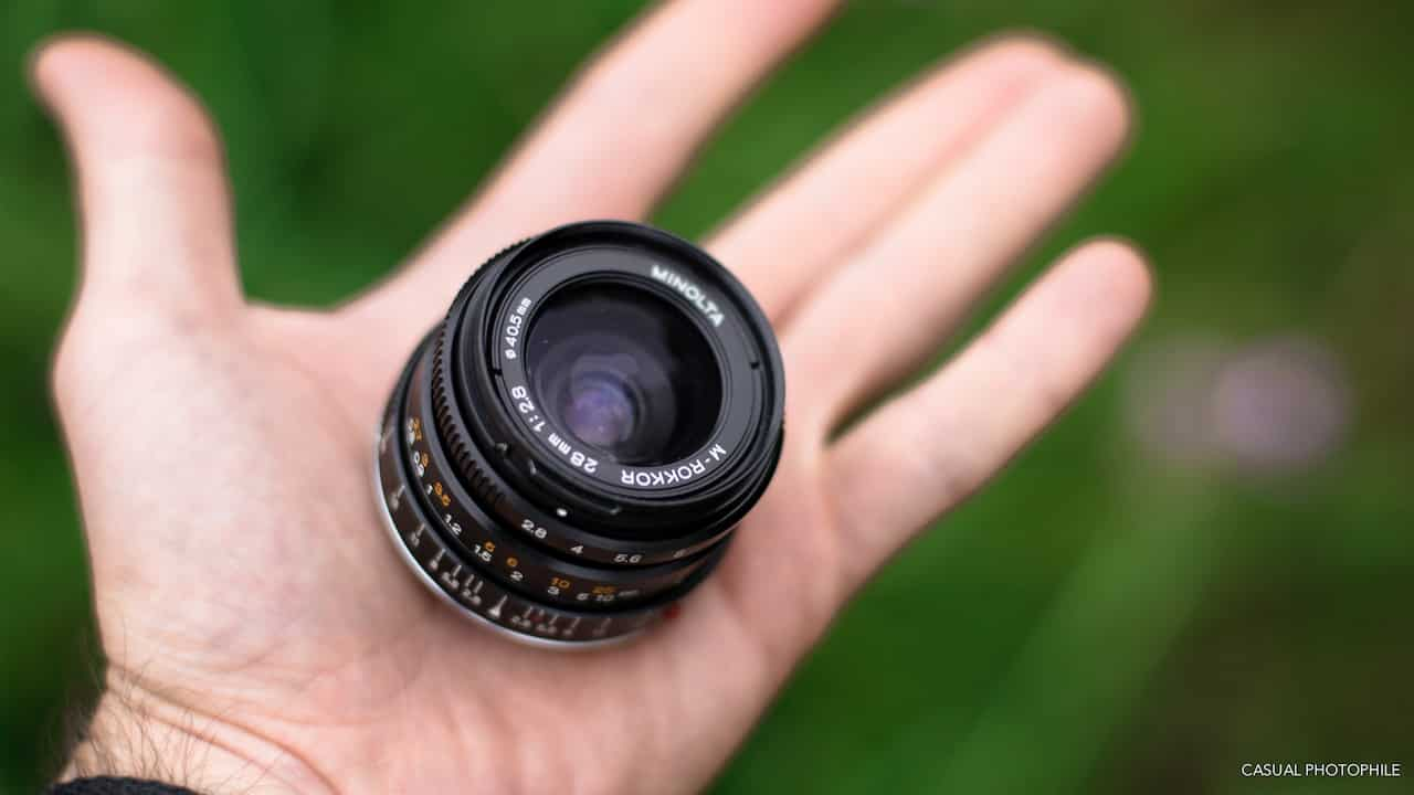 Camera Geekery: Minolta M Rokkor 28mm f/2.8 – Lens Review