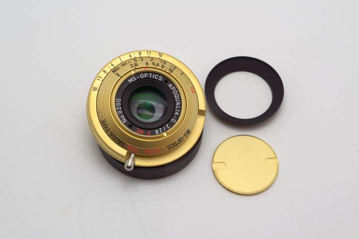 MS-Optics Apoqualia-G 28mm f2 Ultra Thin
