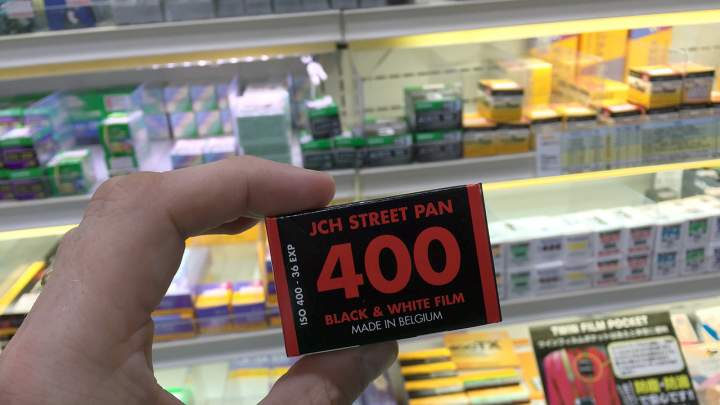 Where can I get JCH StreetPan film?