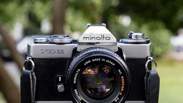 Camera Geekery: Minolta XD11 Review