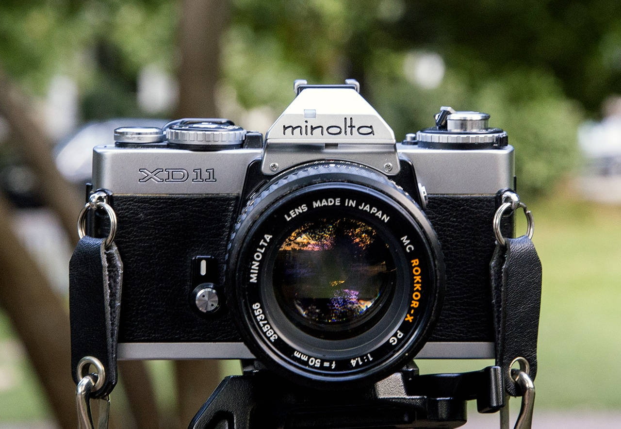 Camera Geekery: Minolta XD-11 Review