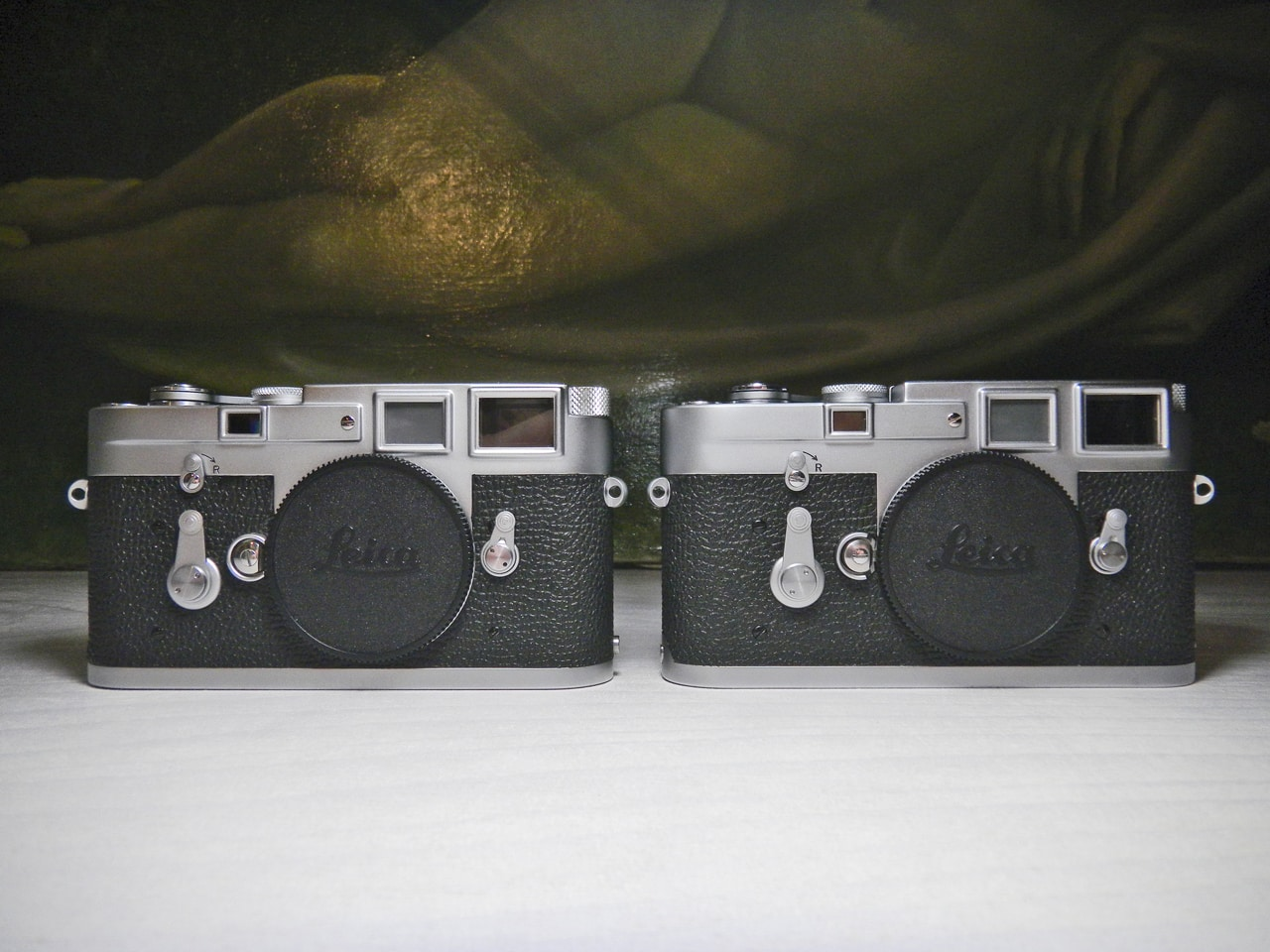 Seeing Double. The story of the matching Leica M3's