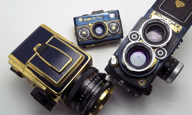 Camera Geekery: The Royal Blue Trio