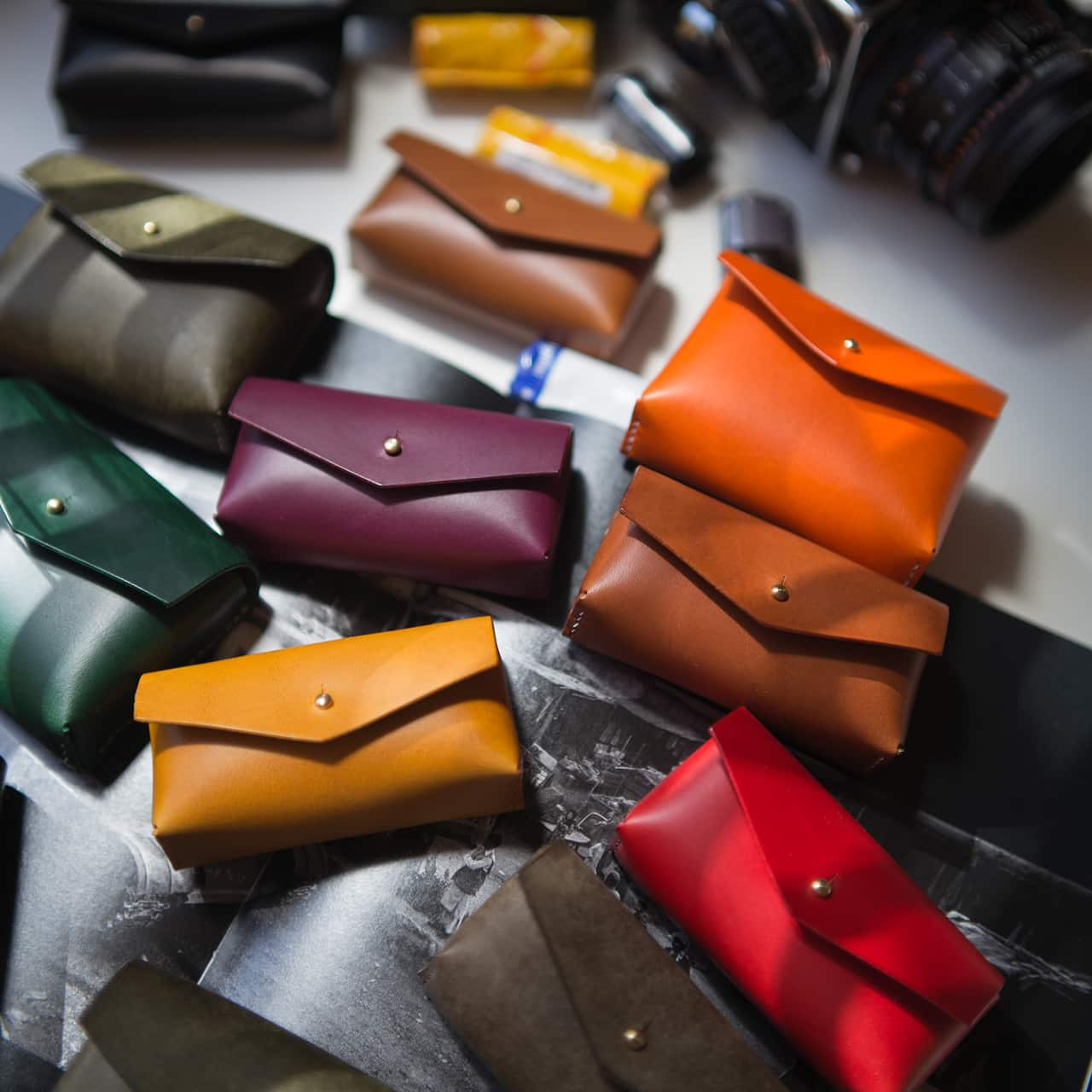 JCH x Mill Leather Film Cases