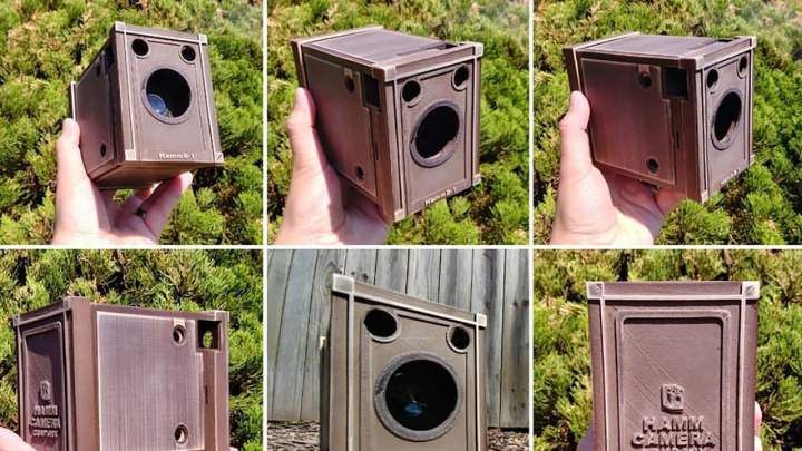 "Camera geekery: ""Hammcamm"" Box Camera"