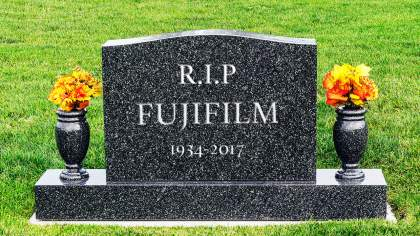 Film News: FujiFilm, the end is nigh
