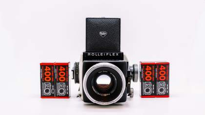 Camera Geekery: Rolleiflex SL66 Review