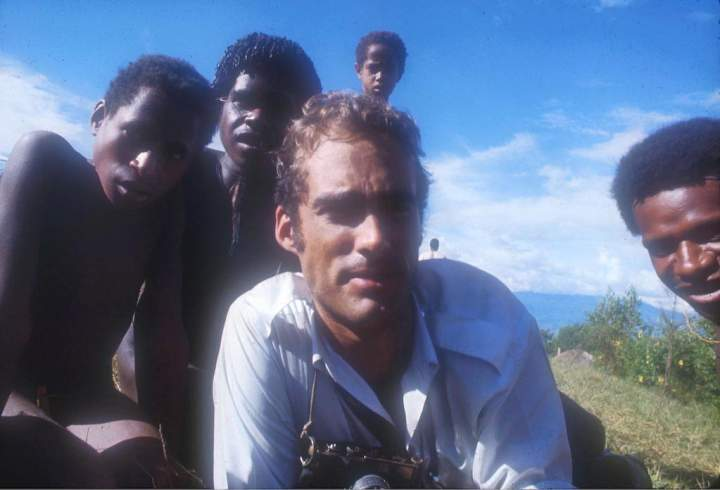 Sean Flynn in Papua New Guinea by David Greenway