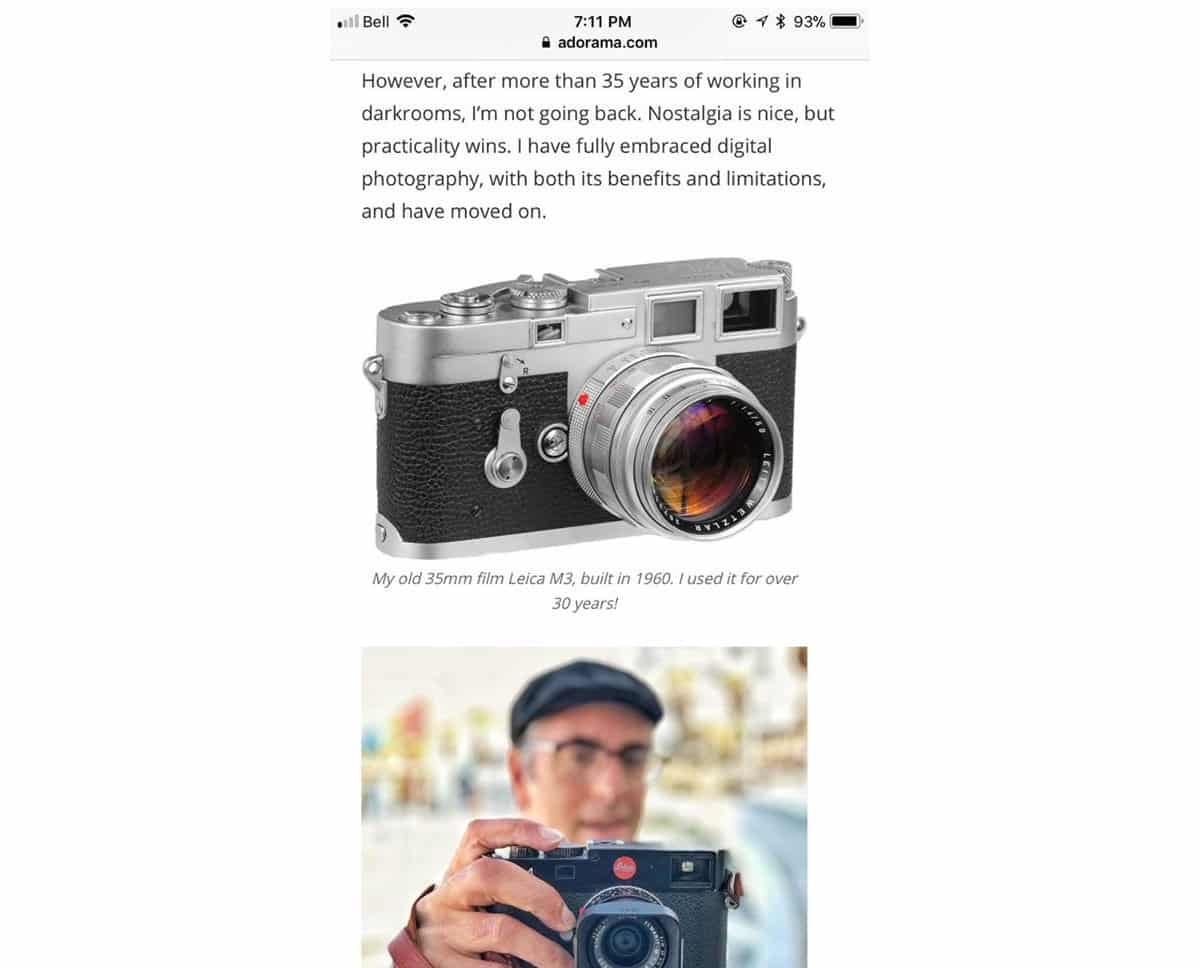 Film News Adorama Scores A Hat Trick Of Blunders Japan Camera Hunter Digital Diagram My Journey It Looked Suspiciously Identical To Certain Mr Rockwells Sans Copyright Course The Comments And Image Has Since Been Deleted But Here They Are