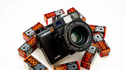 Camera Geekery: Plaubel Makina 67