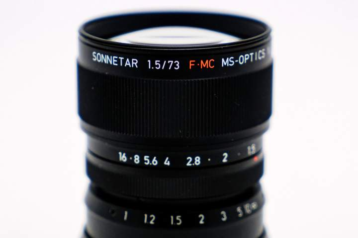 MS Optics Sonnetar 73mm f1.5 FMC
