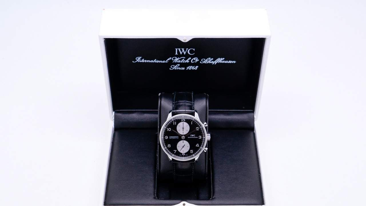 IWC Portugese Chronograph IW3714-04 SS