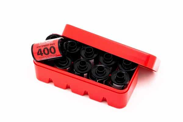 JCH 35mm film case in red