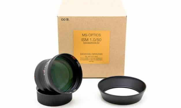 Camera Geekery: MS Optics ISM 50mm f/1.0 M mount