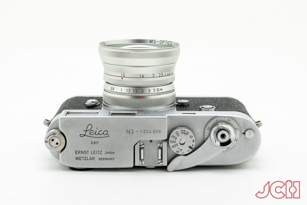 MS Optics ISM 50mm silver on Leica M3