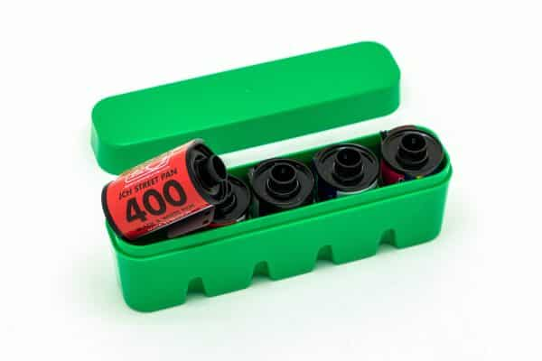 JCH 35mm film half case in green