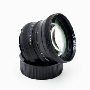 MS Optics ISM 50mm f/1.0 M mount