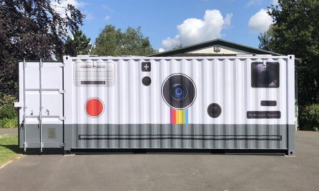 Camera Geekery: Brendan Barry's Shipping Container Camera