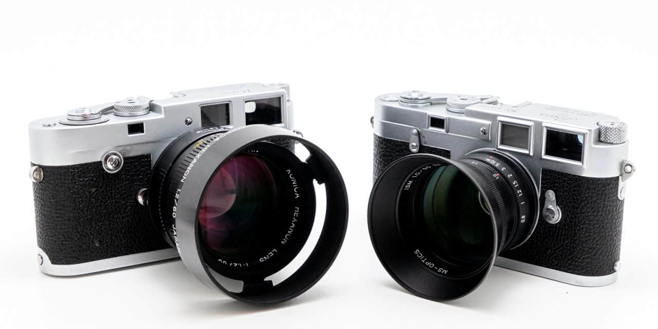 Japanese Speed King Battle: MS Optics ISM 50mm f1 vs. Konica Hexanon 60mm f1.2