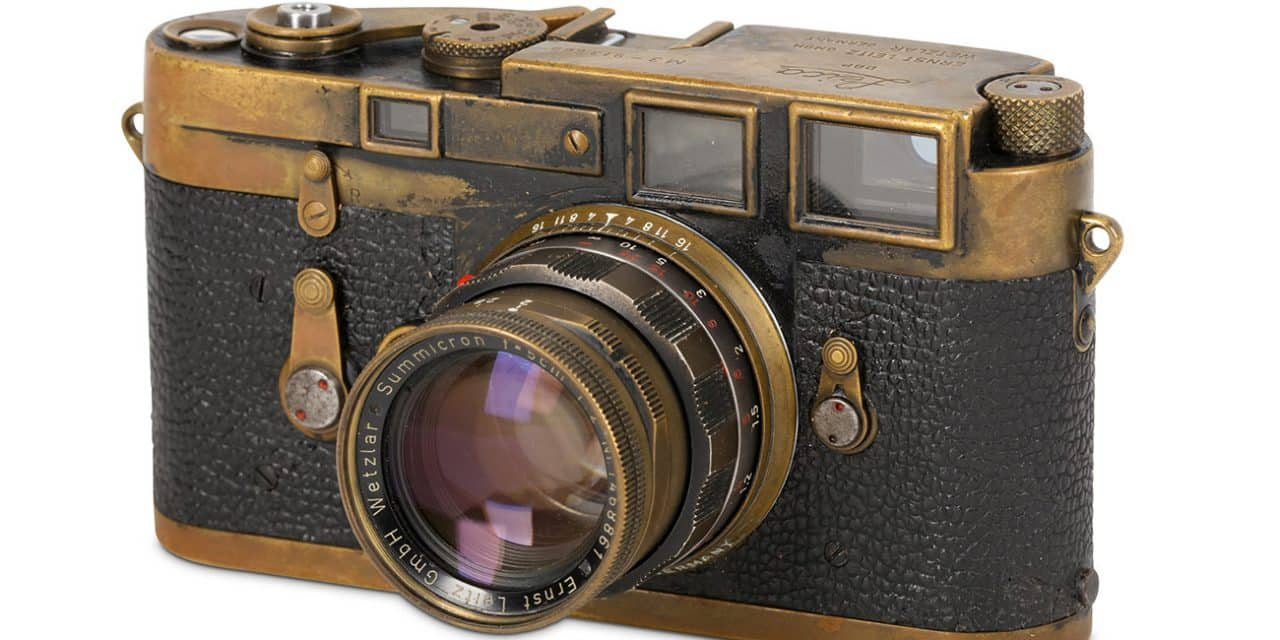 Camera Geekery: Magnum Leica M3 Auction
